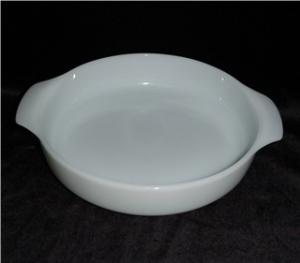 Fire King Milk Glass Casserole Dish (Image1)