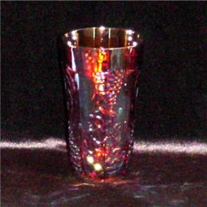 Indiana Marigold Carnival Drinking Glass (Image1)