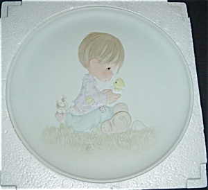 Precious Moments 1982 Limited Edtion Plate (Image1)
