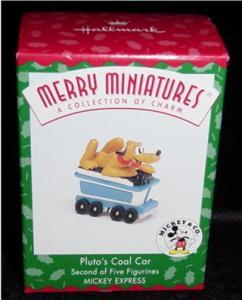 Pluto's Coal Car Hallmark Mini Ornament (Image1)