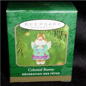 Celestial Bunny Miniature Hallmark Ornament (Image1)
