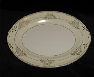 Crown Potteries Oval Platter (Image1)