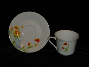 Imperial China Cup & Saucer