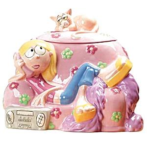 Disney Lizzie Cookie Jar (Image1)