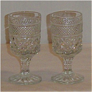 Anchor Hocking Wexford Wine Goblets