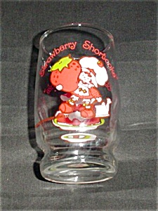 Strawberry Shortcake Juice Glass