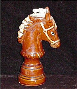 Vintage Ceramic Horse Lighter (Image1)
