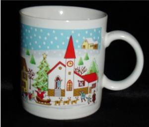Japan Christmas Coffee Mug (Image1)
