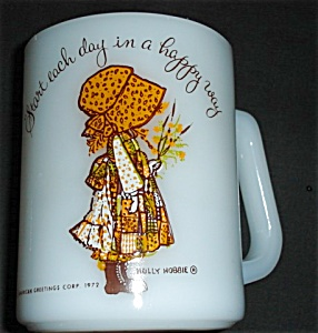 Federal Glass Holly Hobbie Orange Mug