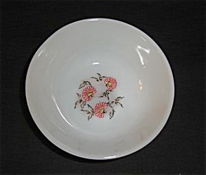 Fire King Fleurette Berry Bowl (Image1)