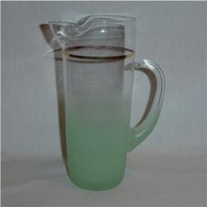 West Virginia Glass  Pitcher (Image1)