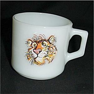 Fire King Esso Tiger  Mug (Image1)