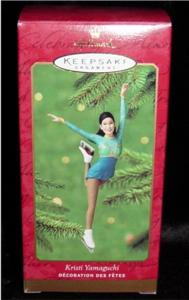 Kristi Yamaguchi Hallmark Ornament (Image1)