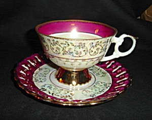 Japan Luster Cup and Saucer (Image1)