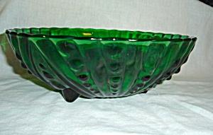 Anchor Hocking Burple Large Green Bowl (Image1)