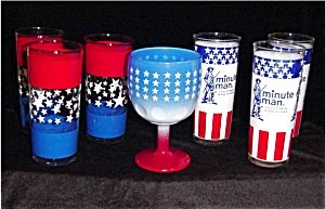 Patriotic Red, White & Blue Glasses (Image1)