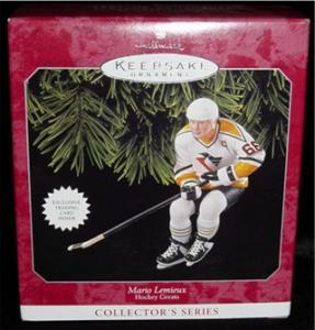 Mario Lemieux Hockey Hallmark Ornament (Image1)