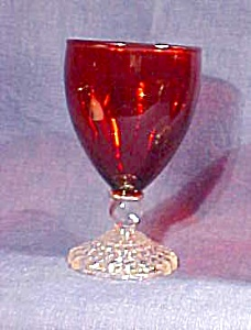Anchor Hocking Boopie Ruby Red  Glass (Image1)