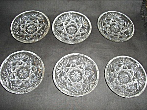 Early American Prescut Coaster Set of 6 (Image1)