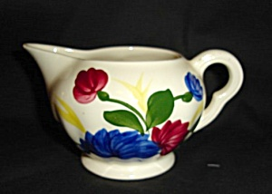 Blue Ridge Chrysanthemum Creamer