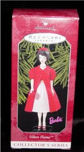 Silken Flame Barbie Hallmark Ornament (Image1)