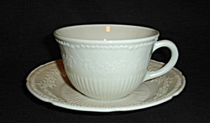 Anchor Hocking Alice Cup And Saucer