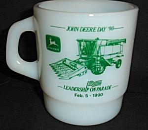 Milk Glass John Deere Mug (Image1)