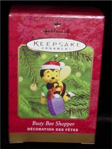 Busy Bee Shopper Hallmark Ornament (Image1)