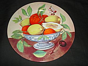 I. Godinger Plate (Image1)