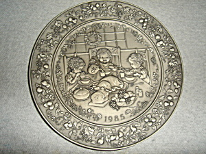 Hallmark  Little Gallery Pewter Plate (Image1)