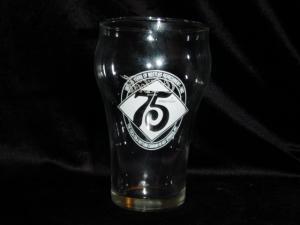 75th Anniversary Coca Cola Glass (Image1)