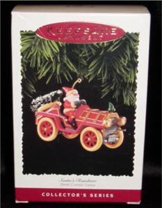 Santa's Roadster Hallmark Ornament (Image1)