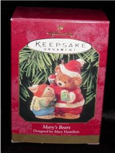 Mary's Bears Hallmark Ornament (Image1)