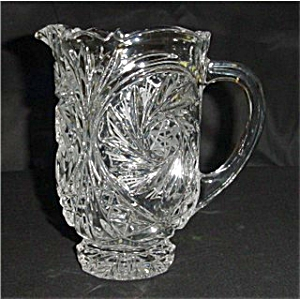 Crystal Glass Pitcher (Image1)