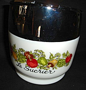 Pyrex Gemco Sugar Bowl