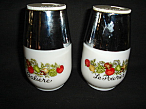 Pyrex Gemco Salt And Pepper Set