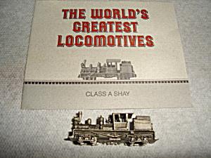 Franklin Mint Locomotive Train (Image1)