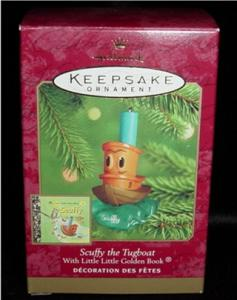 Scuffy The Tugboat Hallmark Ornament (Image1)