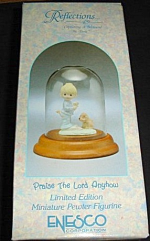 Enesco Precious Moments Pewter Figurine