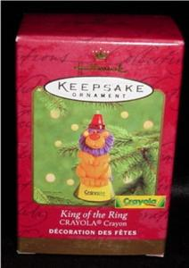 King of the Ring Crayola Hallmark Ornament (Image1)