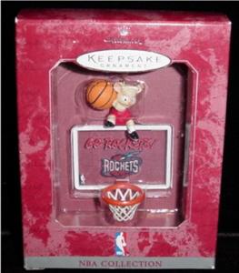 Rockets NBA Hallmark Ornament (Image1)