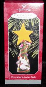 Hallmark Ornament Decorating Maxine Style (Image1)