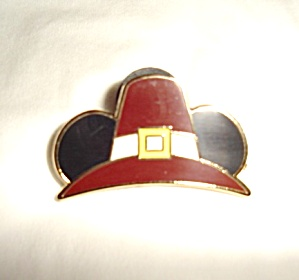 Disney Mickey Pilgrim Hat Pin (Image1)
