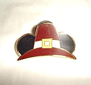 Disney Mickey Pilgrim Hat Pin (Image1)