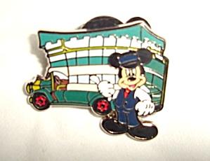 Disney Mickey Main Street Bus Pin (Image1)