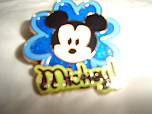 Disney Mickey Cute Character Pin (Image1)
