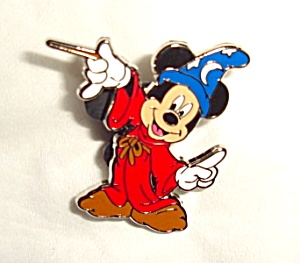 Disney Mickey Sorcerer Pin (Image1)