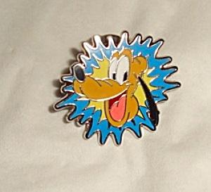 Disney Pluto Starburst Pin (Image1)
