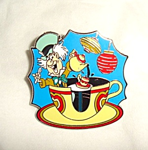 Disney Alice in Wonderland Mad Hatter Pin (Image1)