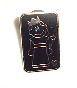 Disney Hidden Girl with Crown Pin (Image1)